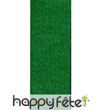 Papier crepon vert de 50 x 200 cm