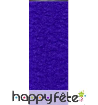 Papier crepon violet de 50 x 200 cm