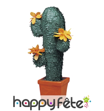 Pinata Cactus vert