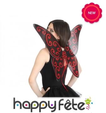 Paire d'ailes de papillon pour adulte
