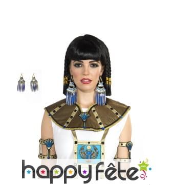 Paire de boucles d'oreilles Egyptiennes