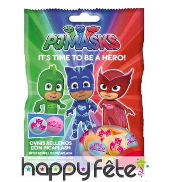 Paquet de bonbons Pyjamasques, 31,7 gr