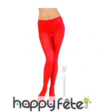 Collants rouges xl