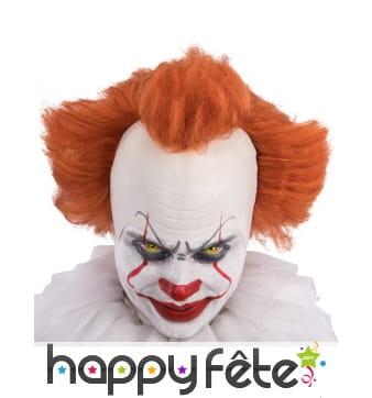 """Perruque de """"ça"""" du clown terrifiant pour adulte"""