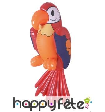 Perroquet d'épaule gonflable