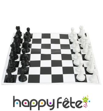 Plateau d'échecs de 14x14cm