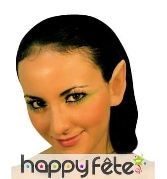 Paire de fausses oreilles d'elfe