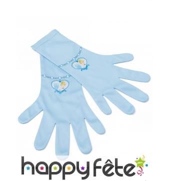 Paire de gants Cendrillon pour enfant