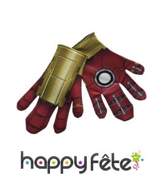 Paire de gants de Hulk Buster pour adulte