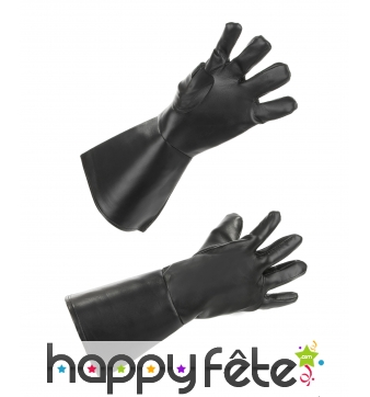 Paire de gants en simili cuir pour adulte