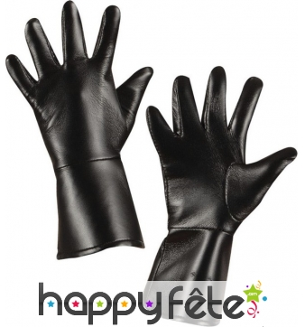 Paire de gants en simili cuir pour enfant