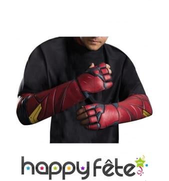 Paire de gants Flash pour homme, Justice League