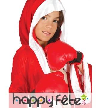 Paire de gants rouge de boxe pour enfant
