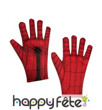 Paire de gants Spiderman pour homme