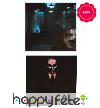 Poster de Halloween pour fenêtre, 45cm