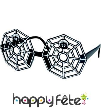 Paire de lunettes toile d'araignée