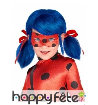 Perruque de Ladybug pour petite fille
