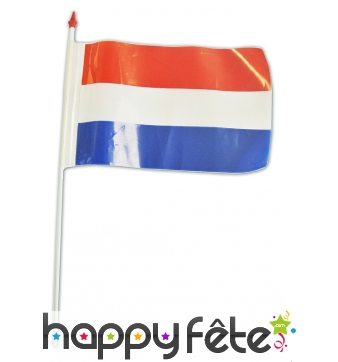 Petit drapeau Luxembourg en plastique