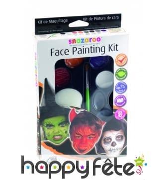 Palette de maquillages pour Halloween, Snazaroo