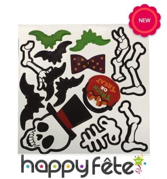 Planche de magnets Halloween