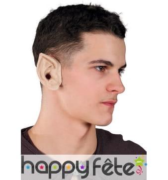 Paire d'oreilles d'elfe pour adulte