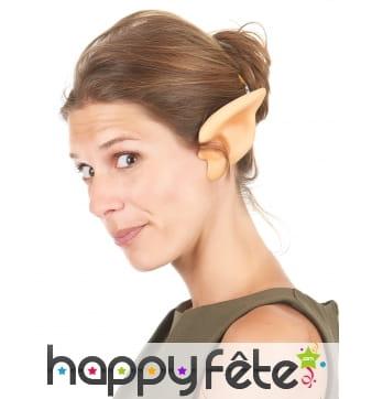 Paire d'oreilles d'elfes en PVC