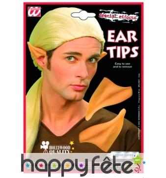 Pointes d'oreilles elfe. Vendues sans colle