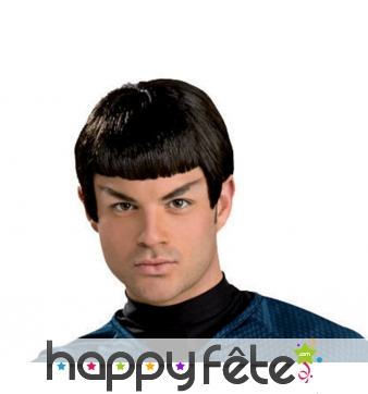 Perruque de spock en plastique, Star Trek