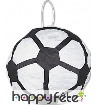 Pinata en ballon de foot