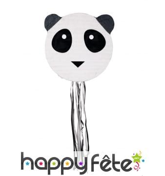 Pinata en forme de tête de panda
