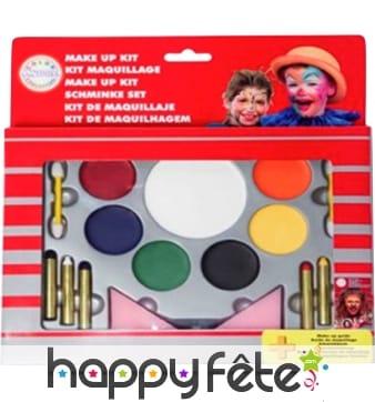 Palette fards + crayons gras