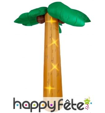 Palmier gonflable et lumineux de 270cm