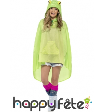 Poncho grenouille imperméable
