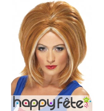 Perruque ginger spice