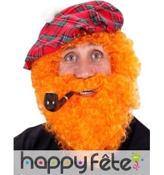 Perruque homme irlandais avec barbe