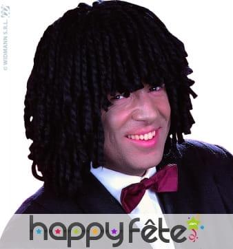 Perruque Jamaïcain noire