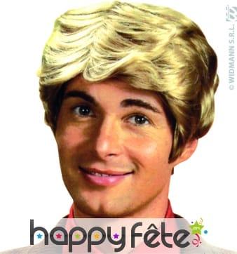 Perruque Ken blond