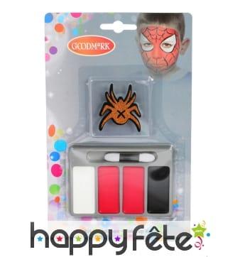 Petit kit de maquillage araignée