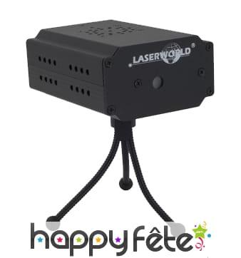 Projecteur laser compact avec angle superieur 90°