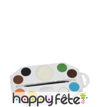 Palette maquillage 8 couleurs