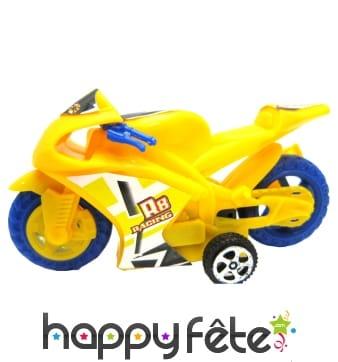 Petit moto à rétro-friction de 7cm