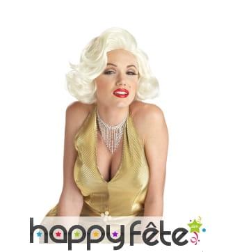 Perruque Marilyne Monroe