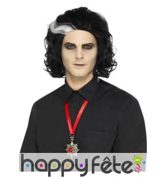Pendentif médaillon vampire