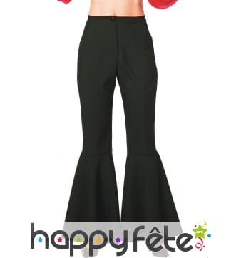 Pantalon noir patte def