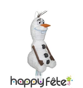 Pinata Olaf, la reine des neiges