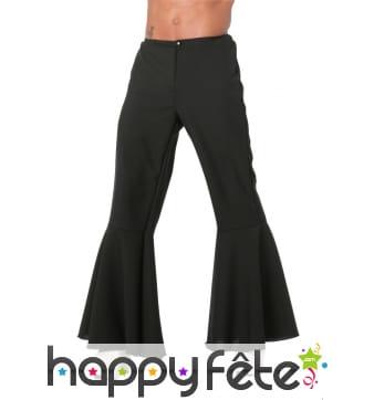 Pantalon patte def noir