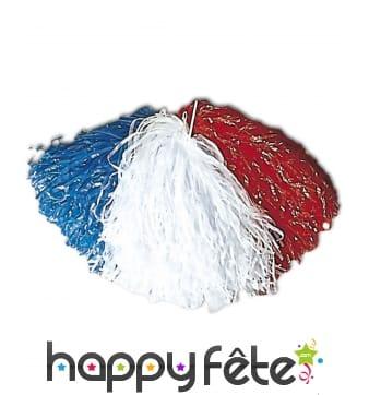 Pom pom drapeau de la France
