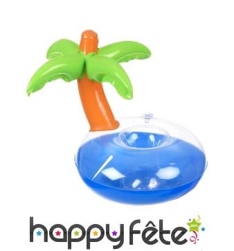Palmier porte-gobelet gonflable de 24cm