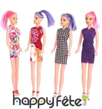 Poupée style barbie, pas le choix du modèle
