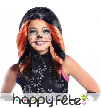 Perruque skelita calaveras, monster high